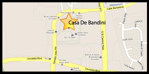 Casa de Bandini Directions