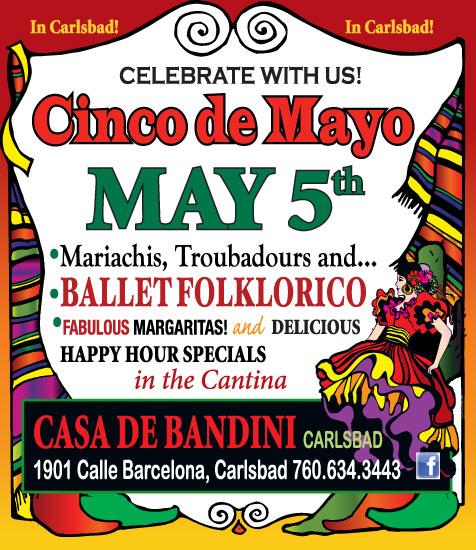 Casa de Bandini Celebrates Cinco de Mayo