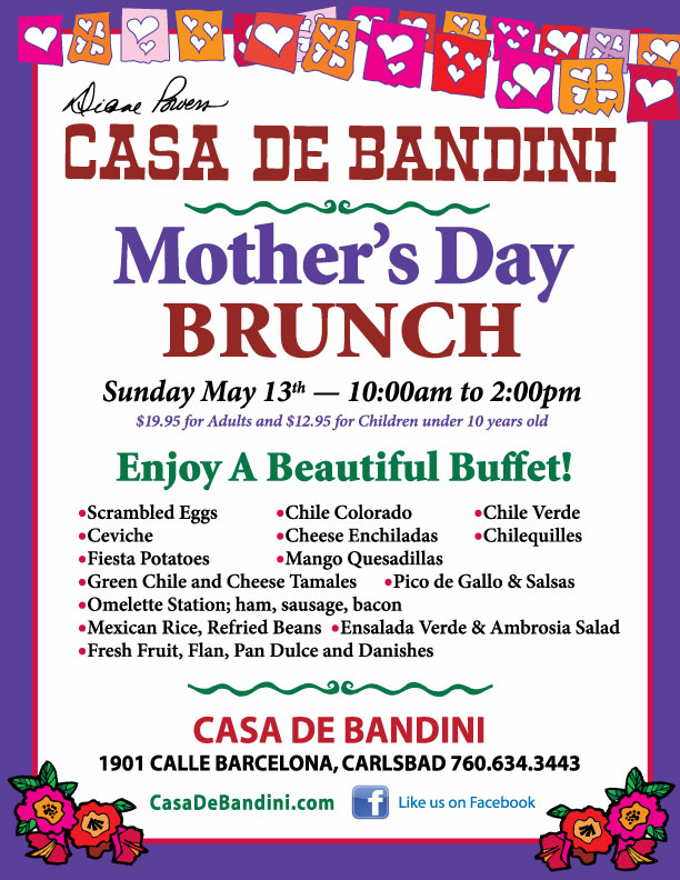 Casa de Bandini Mother's Day 2012
