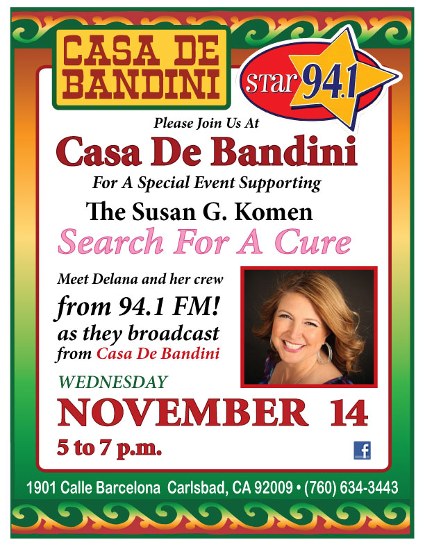 Casa de Bandini and Star 94.1