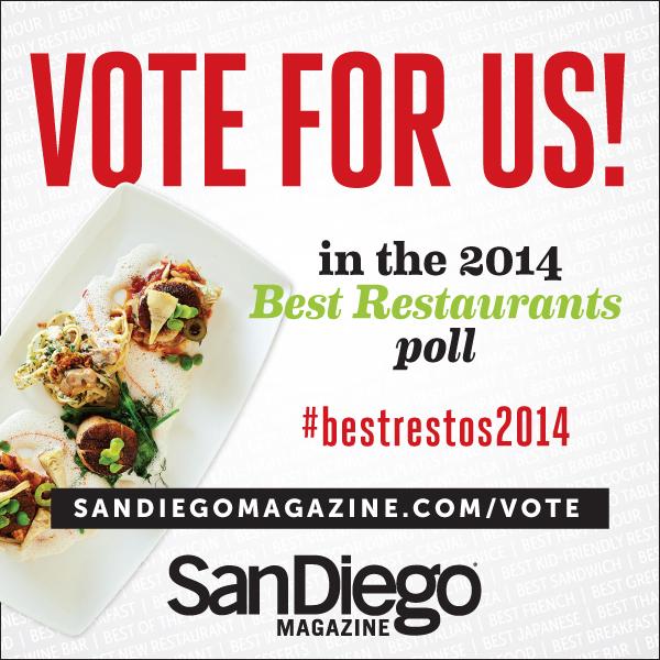 San Diego Magazine Best Restaurants